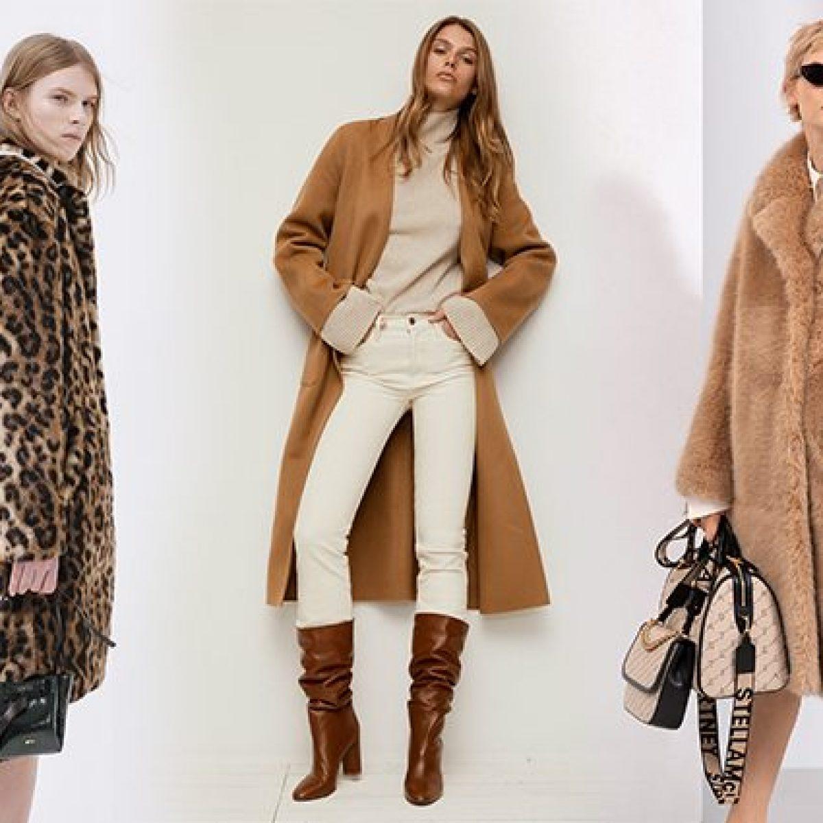 come il cappotto su abiti lunghi