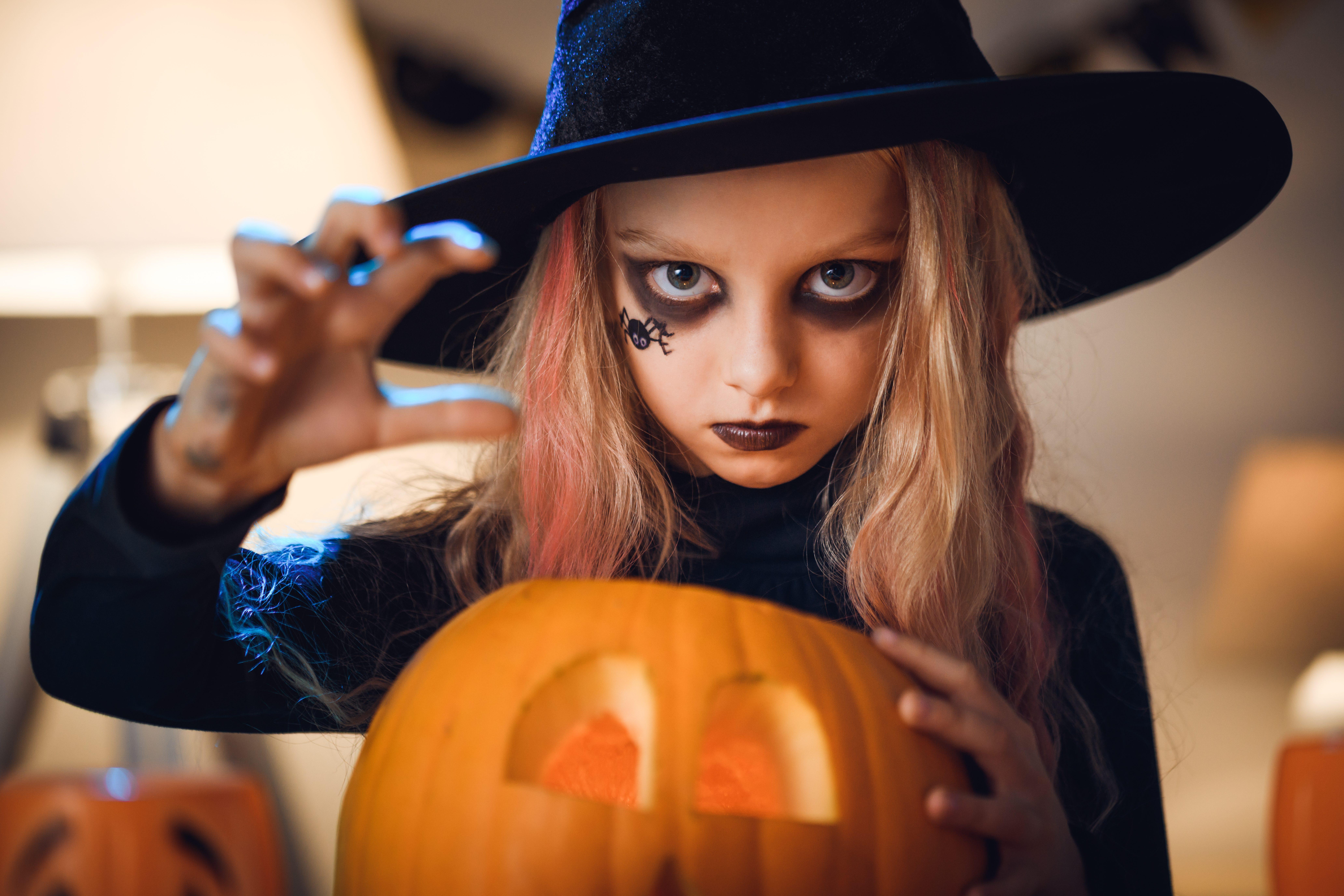 Trucco di Halloween per bambini: 10 idee da paura facili ...