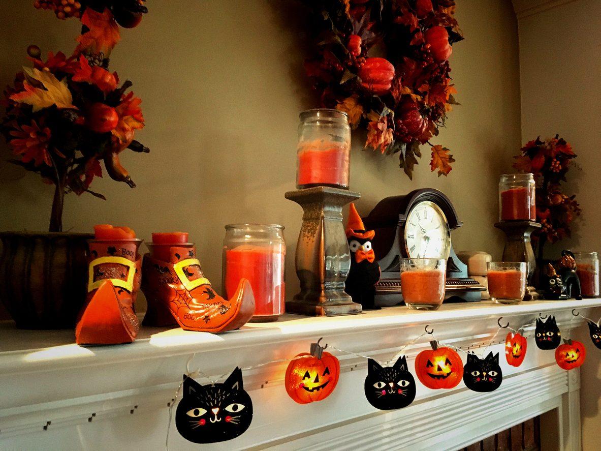 Idee creative e fai da te per decorare la casa ad halloween for Decorare casa