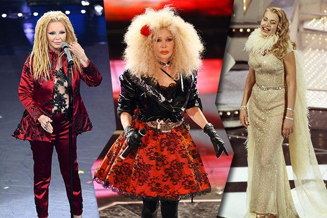 Sanremo: i 15 peggiori look della storia del Festival