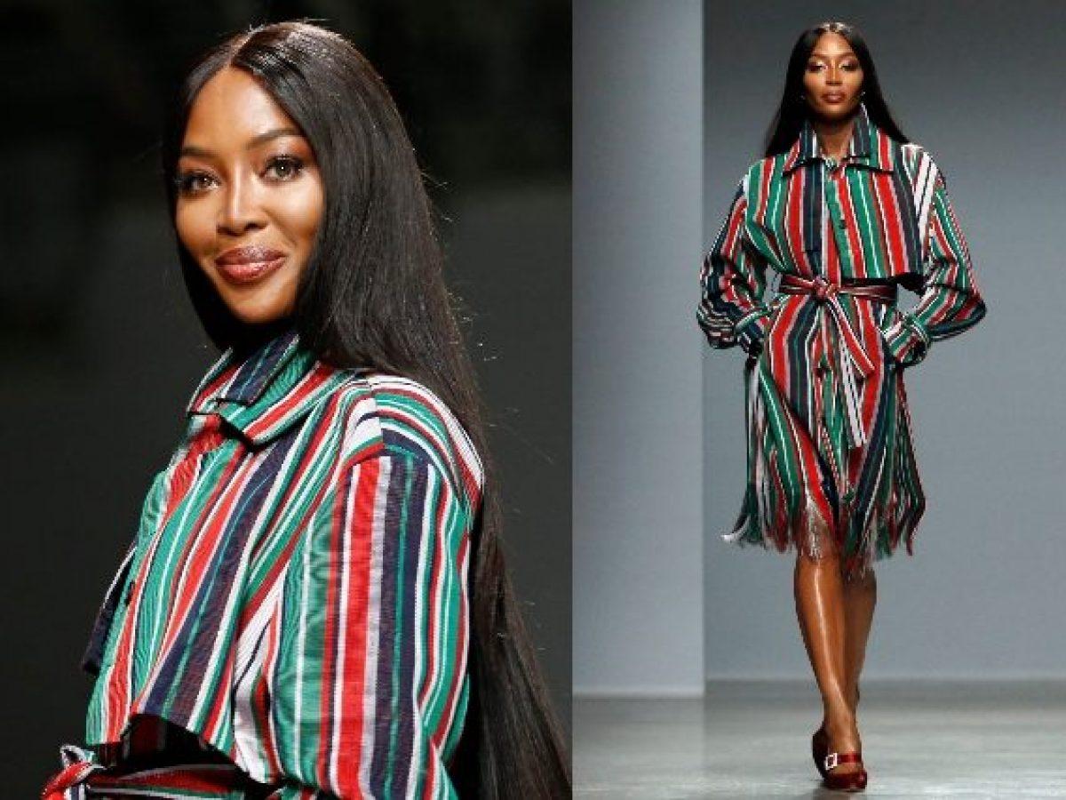 Naomi Campbell con i capelli lunghissimi: cambia look per ...