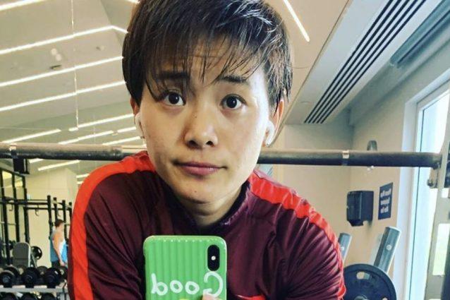 Bloccata a Wuhan per il Coronavirus, l'atleta si allena sul