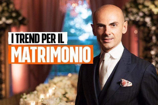 Gli abiti da sposa di Enzo Miccio per il 2021: i vestiti si