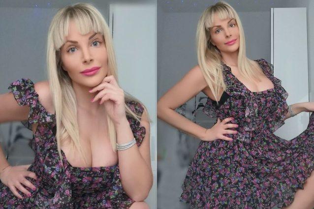 Francesca Cipriani con la frangetta: cambia look tagliandosi