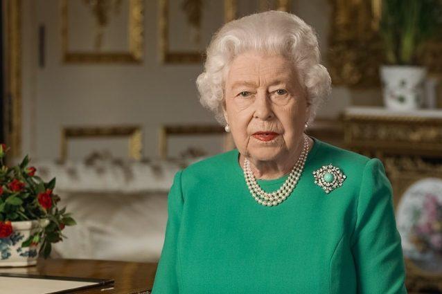 Elisabetta II parla alla nazione in verde speranza: il signi