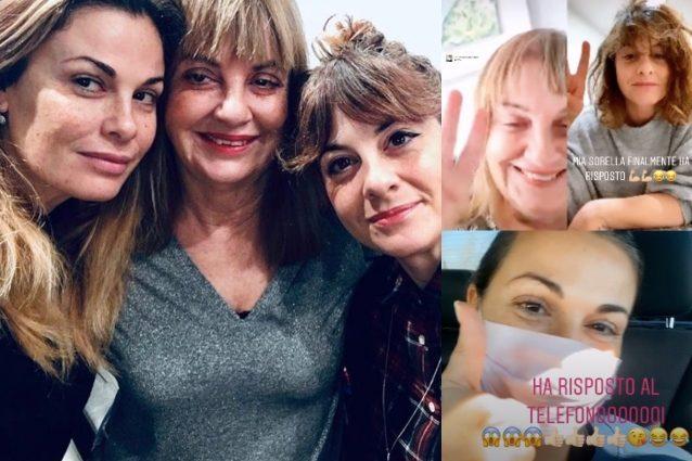 Vanessa Incontrada in videochat con mamma e sorella: così no