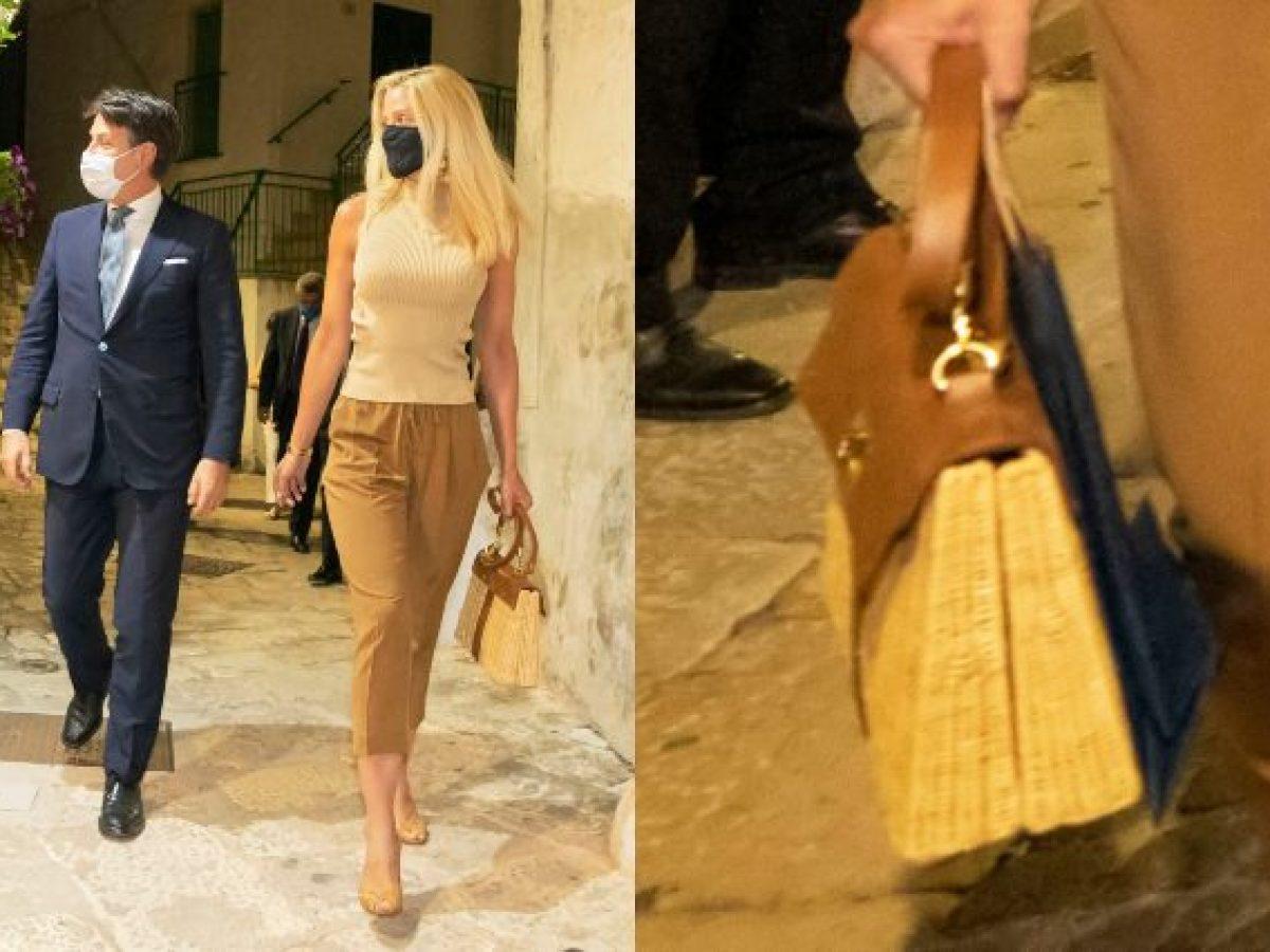 Olivia Paladino: la borsa della compagna di Conte non è extra lusso, costa  poco più di 100 euro