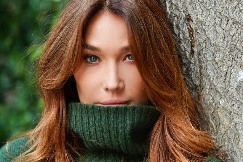 Carla Bruni cambia colore di capelli: il suo cinnamon ...