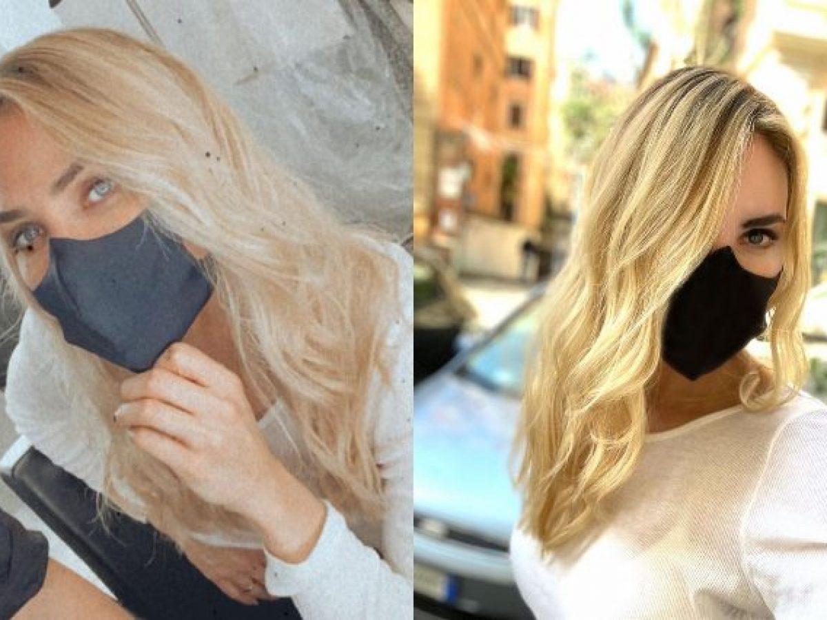 Ilary Blasi con i capelli sempre più biondi: cambia look ...