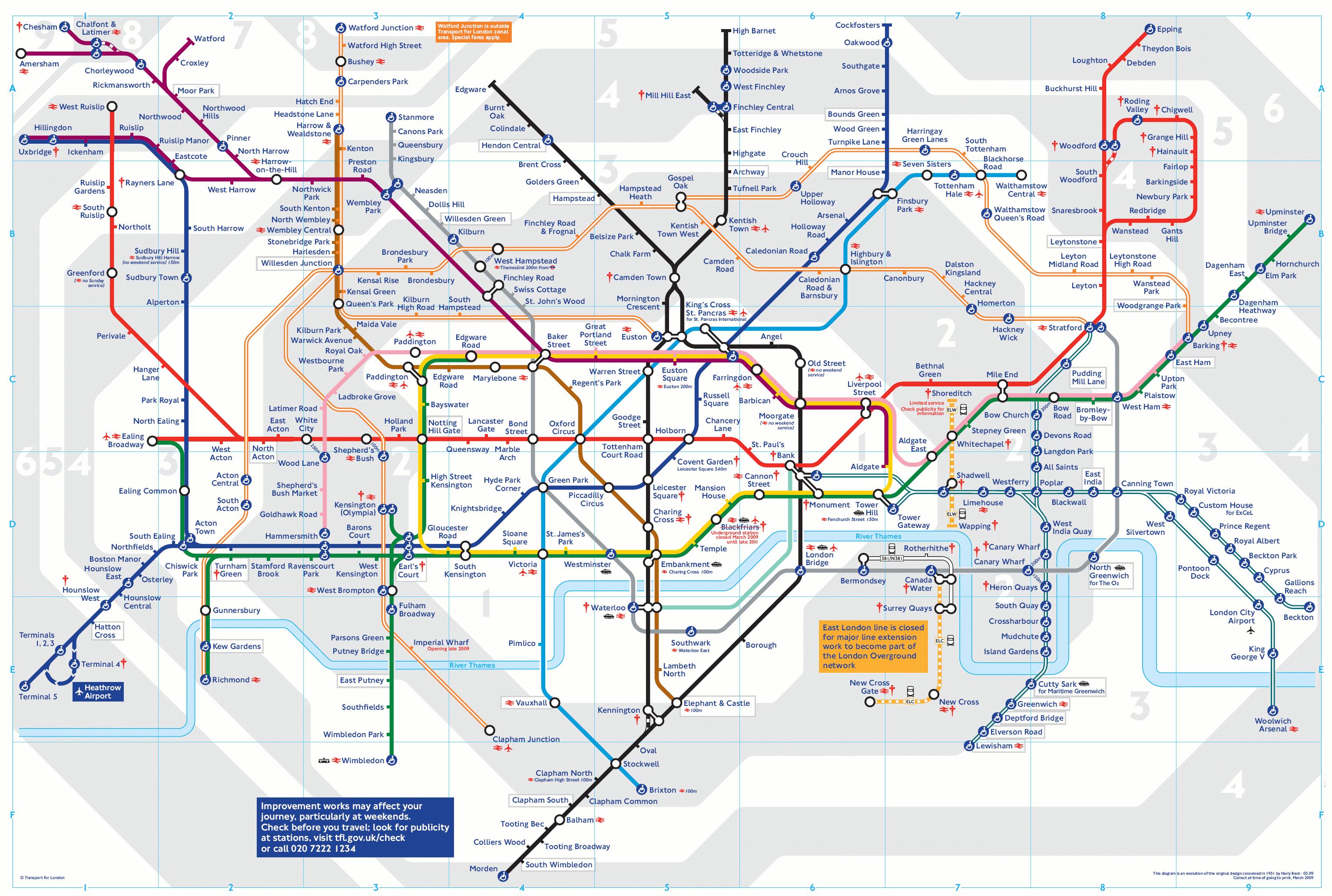 metropolitana di londra tariffe e orari della tube