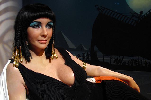 Elizabeth Taylor ai Madame Tussauds di Londra, Las Vegas, New York, Amsterdam (Foto di Loren Javier).