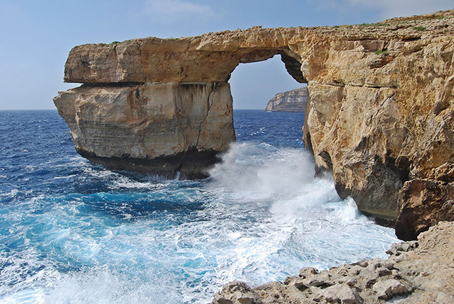 Azure Window, Malta.