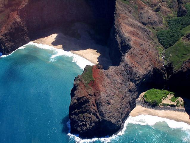 Honopu Arch, Hawaii, Usa.