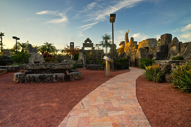 Coral Castle a Homestead, Florida