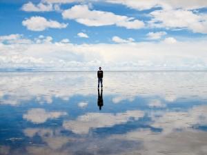 Salar De Uyuni, un deserto nel quale specchiarsi