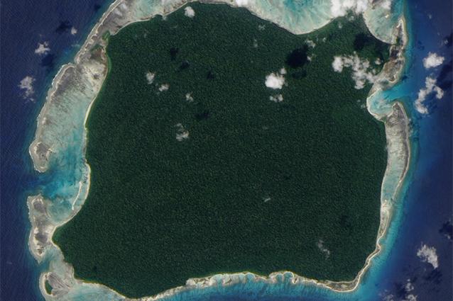 North Sentinel Island.