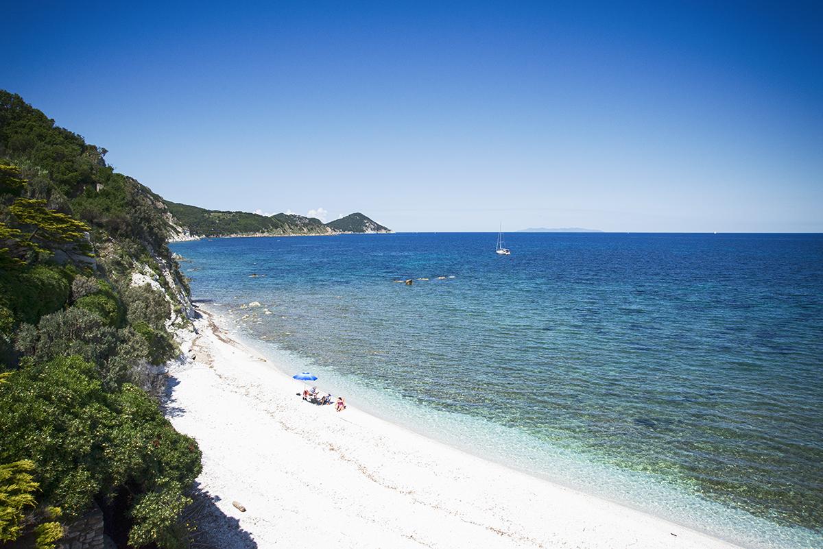 Spiaggia Capo Bianco [@Fanpage.it/Ilaria Vangi]