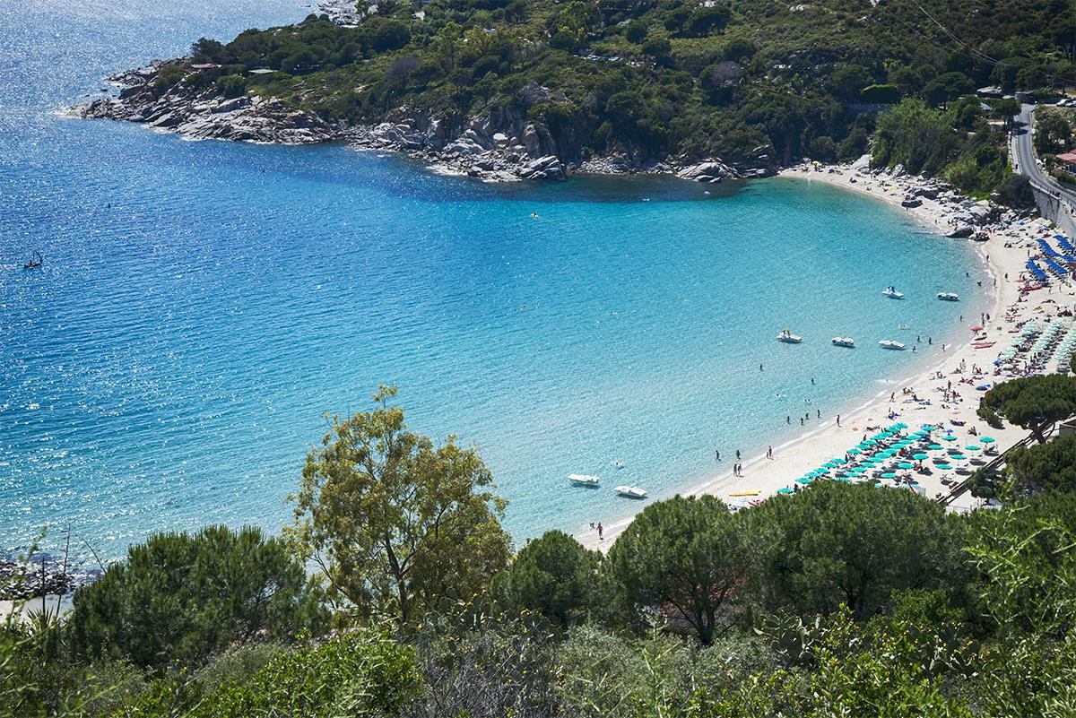 Spiaggia Cavoli [@Fanpage.it/Ilaria Vangi]
