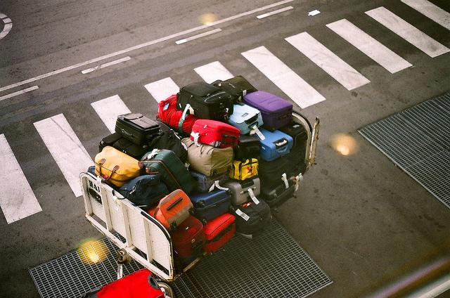 Carrello bagagli
