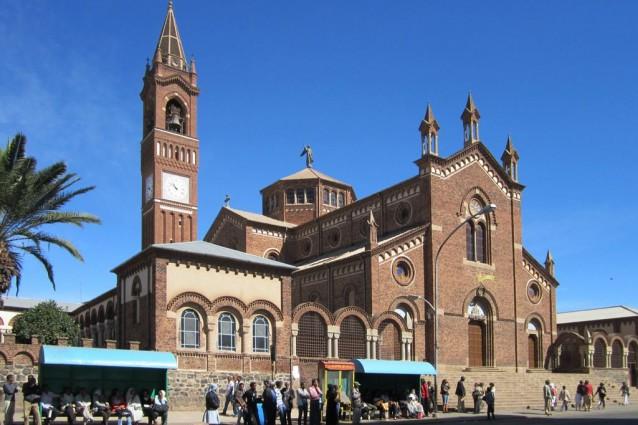 Asmara, cattedrale di San Giuseppe