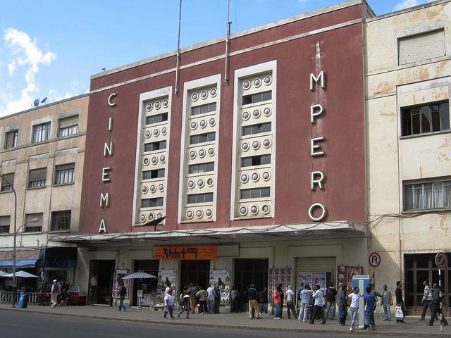 Asmara, cinema Impero