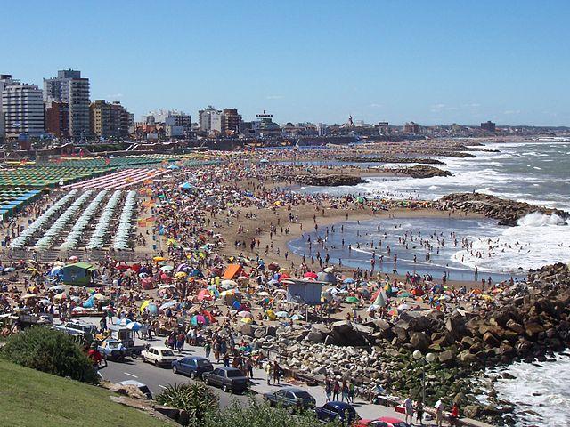 Mar de Plata a Buenos Aires (foto da Wikipedia).