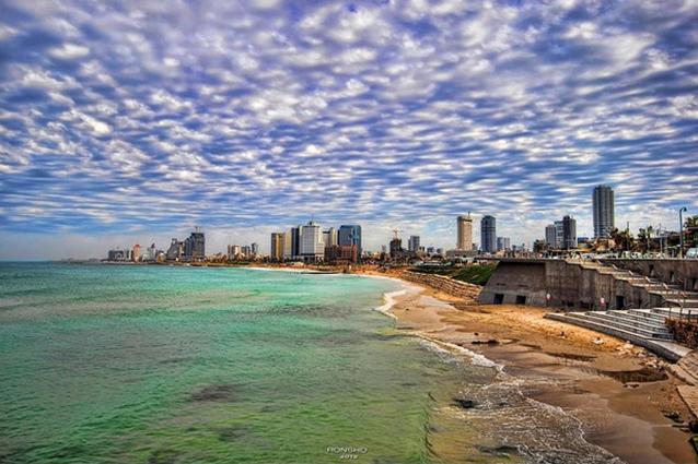 Tel–Aviv (Foto da Flickr).