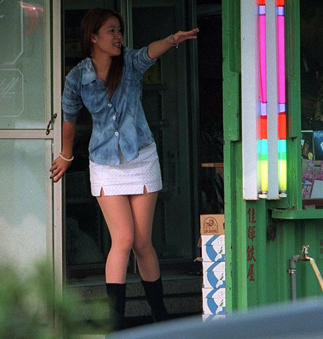 Taiwan Donne In Vetrina Come Ad Amsterdam Ma Non Vendono