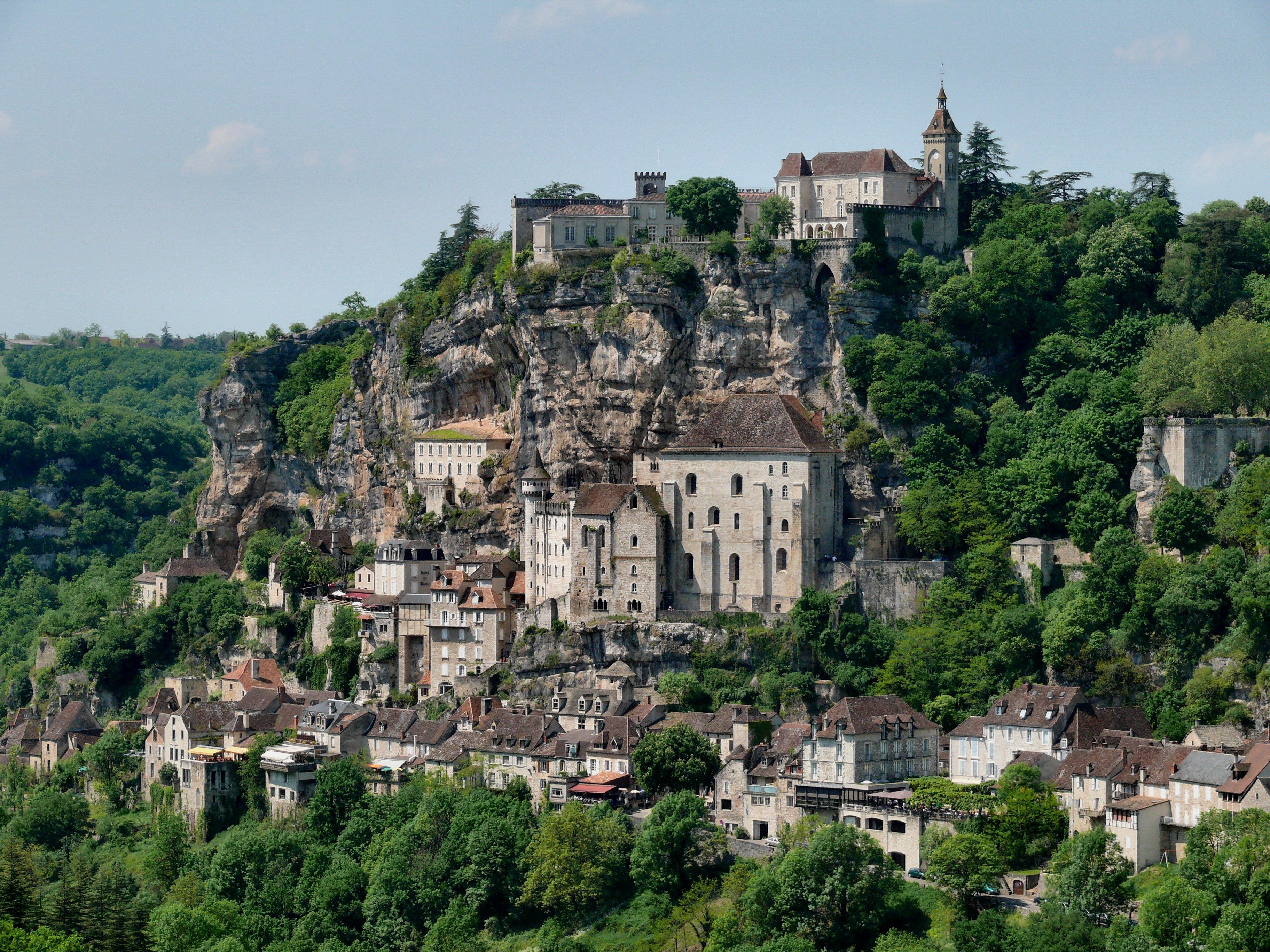 Rocamadour (foto di Wikipedia)