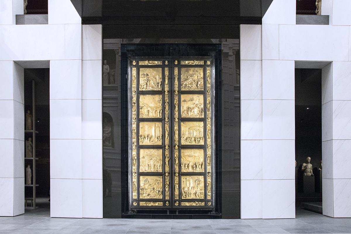 Porta del Paradiso di Lorenzo Ghiberti [@Fanpage.it / Ilaria Vangi]