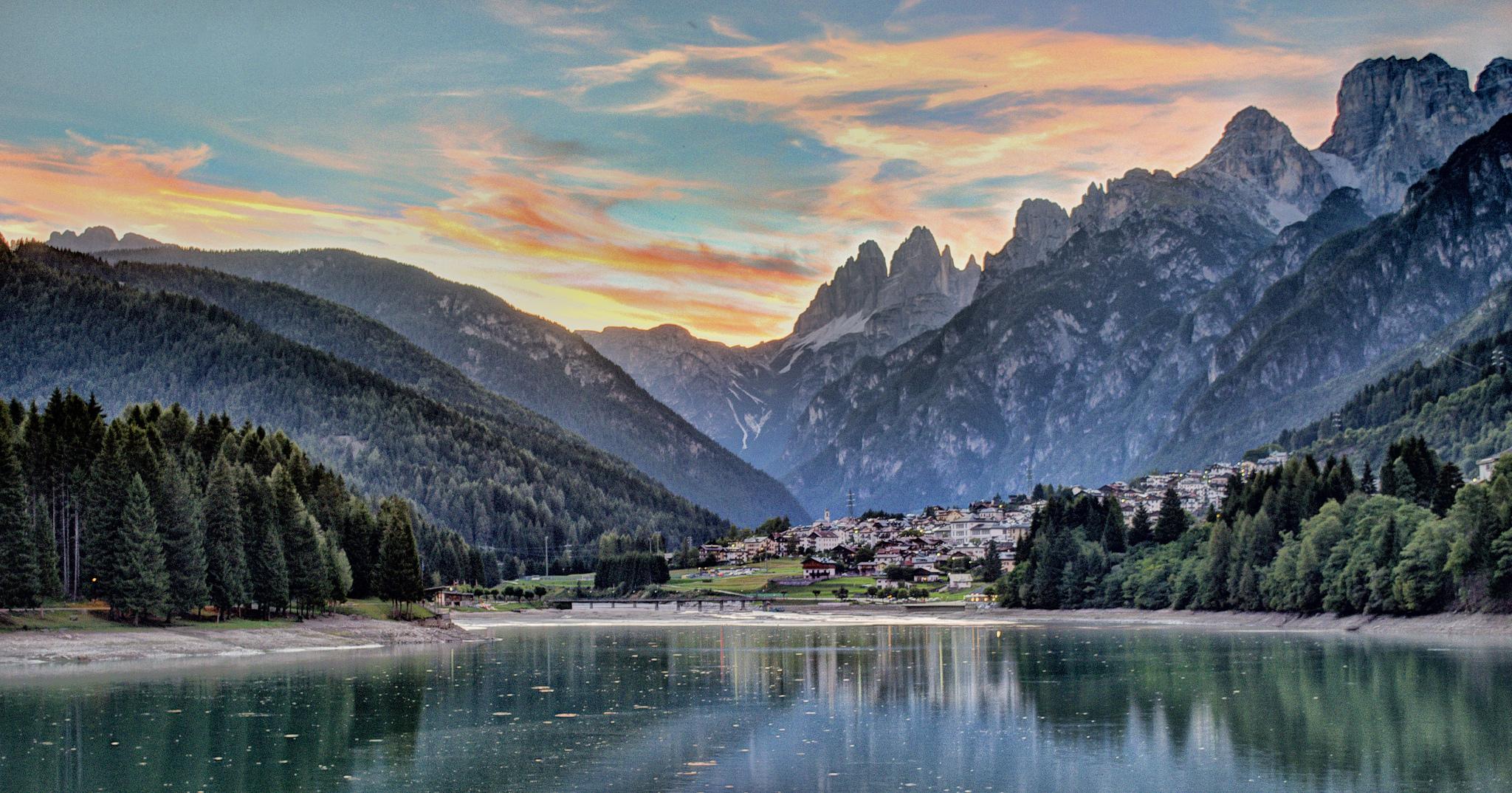 Vacanze in montagna in veneto dove andare in inverno ed for Disegni di baite