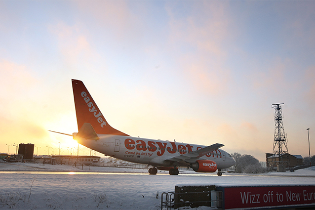 Aereo easyJet a Londra (foto di Oli Scarff/Getty Images).