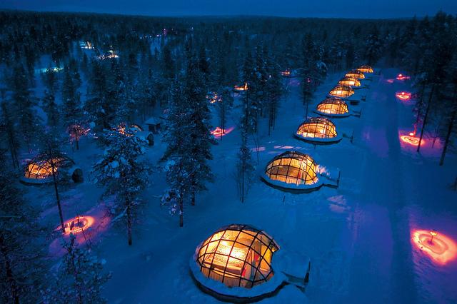 Kakslauttanen – Foto di Visit Finland