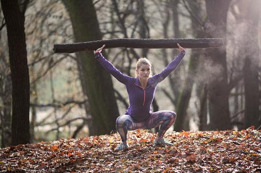 Esercizio fisico nei parchi della Svezia
