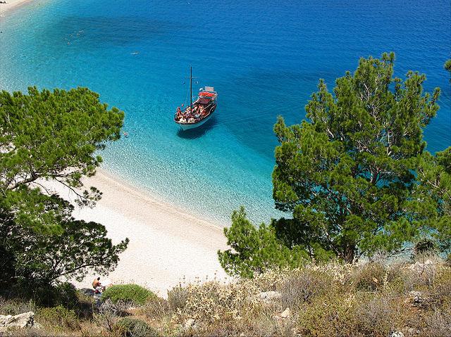 Spiaggia di Apella, Karpathos (Foto Wikipedia)