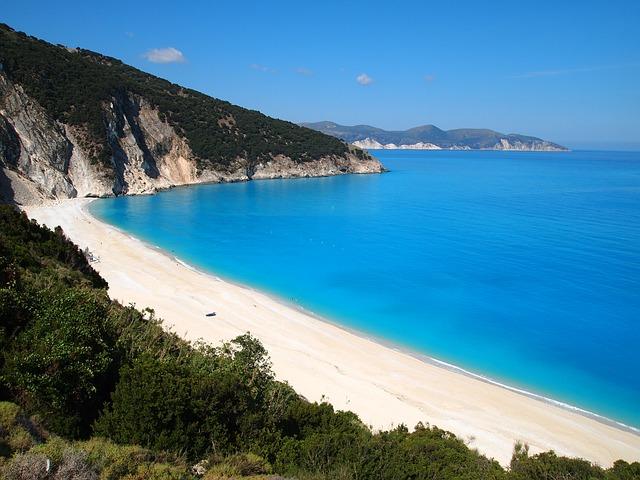 Spiaggia di Cefalonia (foto Pixabay)