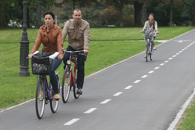 In bici a Lubiana – Foto di European Mobility Week