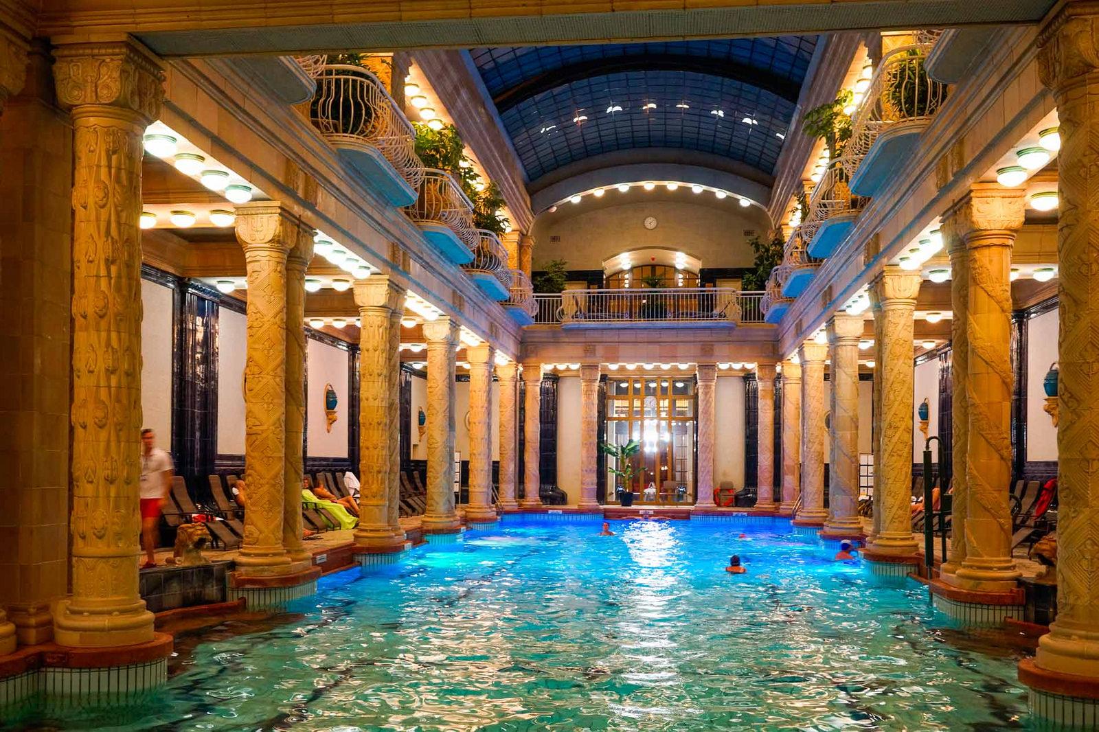 Gellert Thermal Baths and Spa. Foto da Flickr
