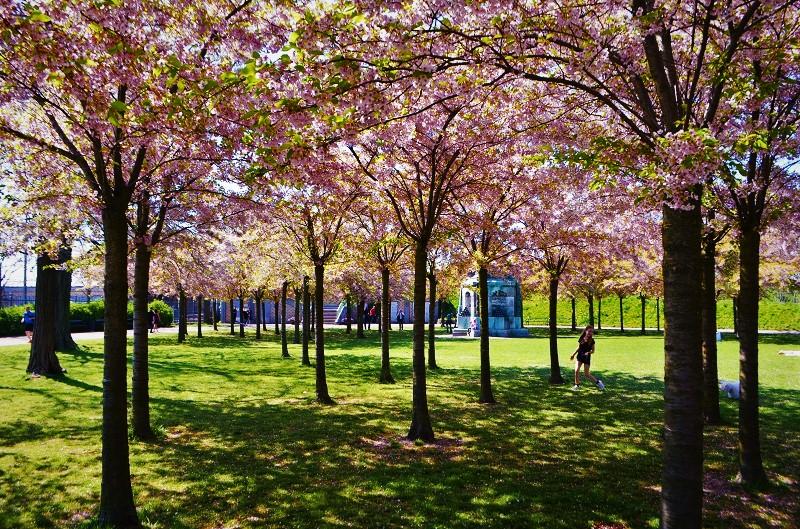 Il parco di Langelinie