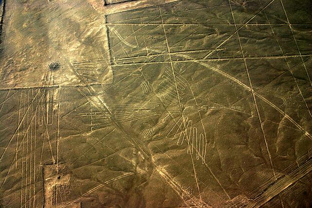 Linee di Nazca, Condor – Foto Wikimedia Commons