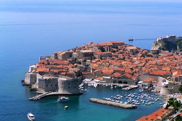 Centro storico di Dubrovnik – Foto Wikimedia Commons