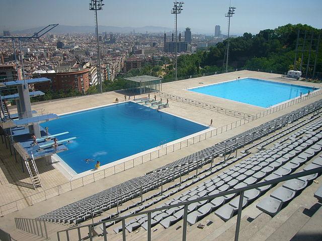 Piscina Municipal de Montjuïc – Foto: Wikipedia