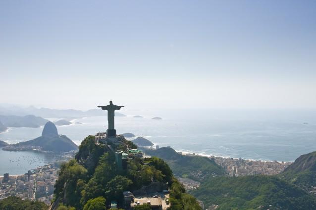 Rio de Janeiro, il Cristo Redentore sul Corcovado