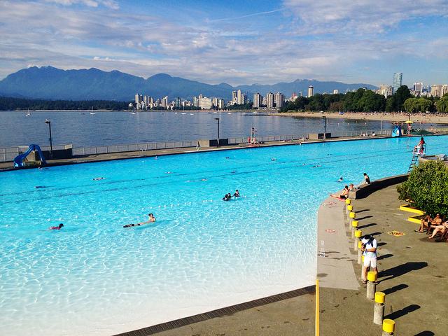 Kitsilano Pool, Vancouver – Credits: xia li