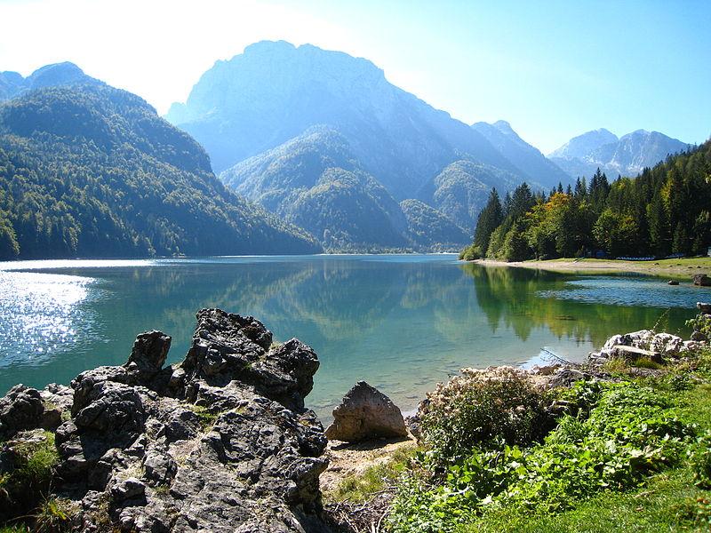 Lago di Predil. Foto da Wikipedia