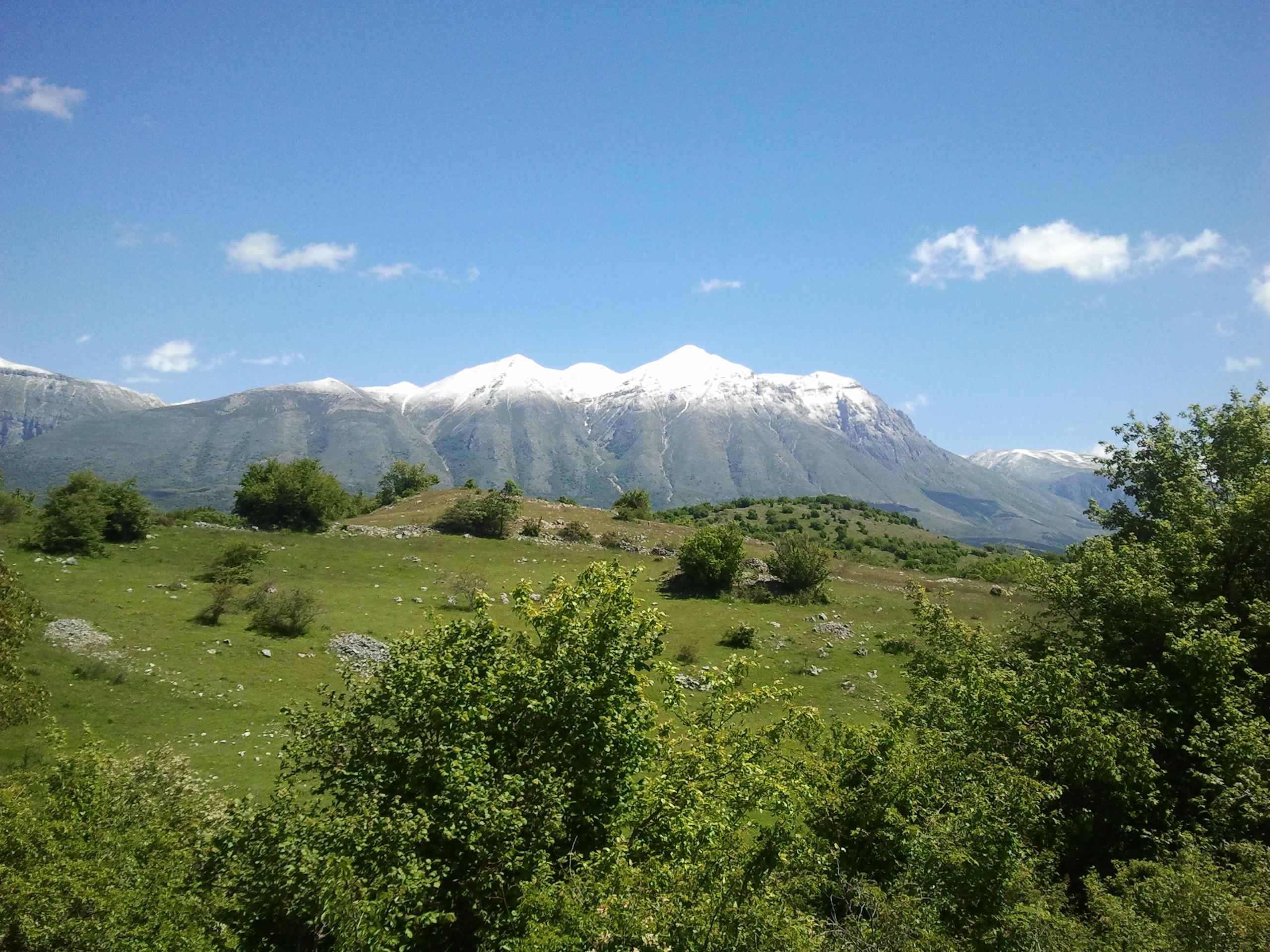 Veduta del Monte Velino