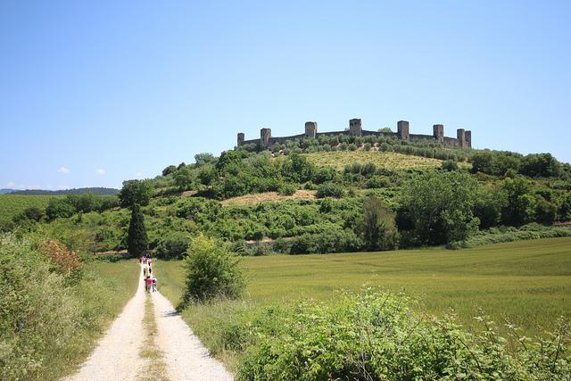 Monteriggioni, una tappa della Via Francigena – Credits: Visit Tuscany