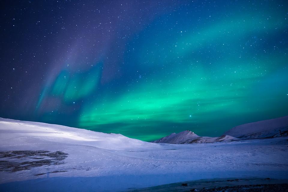 Aurora Boreale. Foto da pixabay