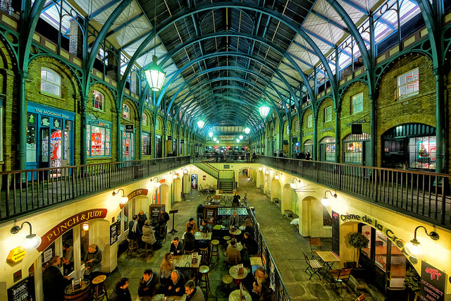 Covent Garden. Foto da Flickr