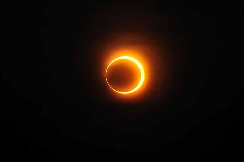 Eclissi lunare. Foto da Wikipedia